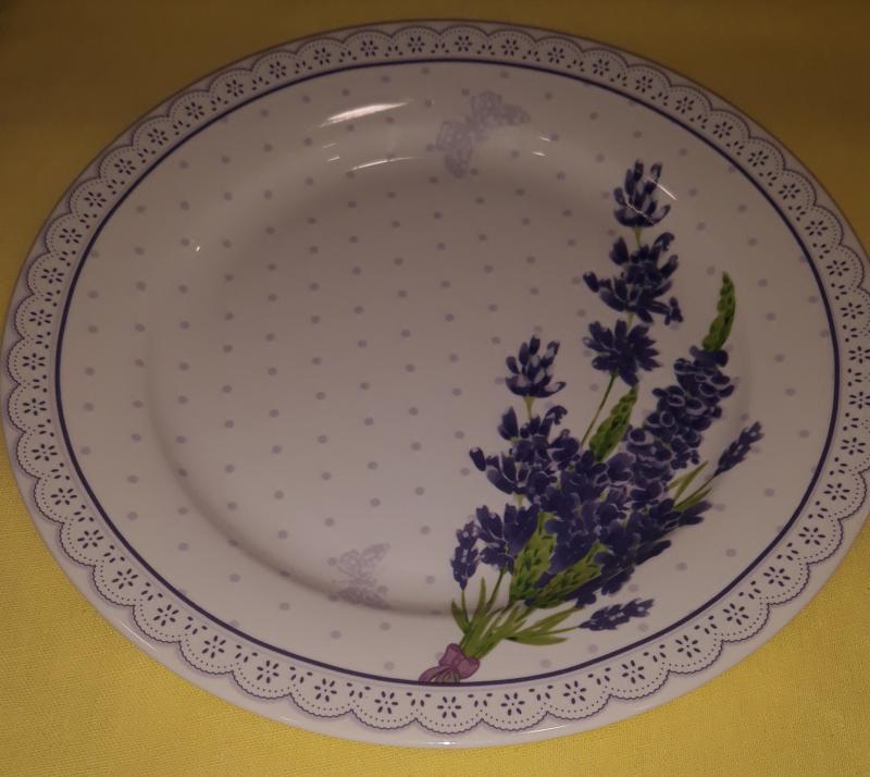 Veroni Lawenda desszertes tányér (levendulás), 19 cm, 5908216715457