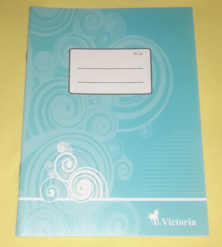 Victoria kisalakú vonalas füzet, 16-32, 32 lapos