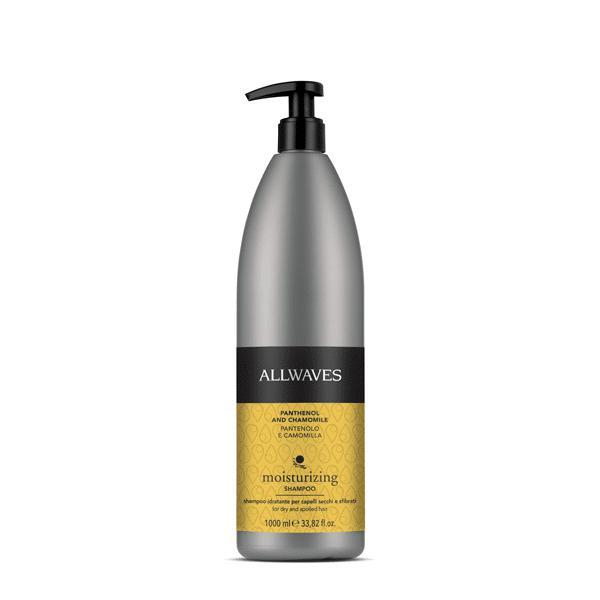 Allwaves Hydrating Panthenol & Chamomile shampoo 1000ml / Hidratáló sampon panthenol / kamilla