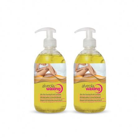 Alv. Alveola Waxing Gyantázás utáni lemosó olaj Kamillával 500ml