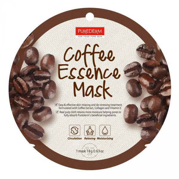 Alv. PureDerm Kávé maszk circle