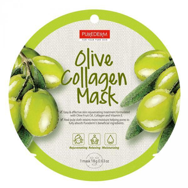 Alv. PureDerm Olive maszk circle