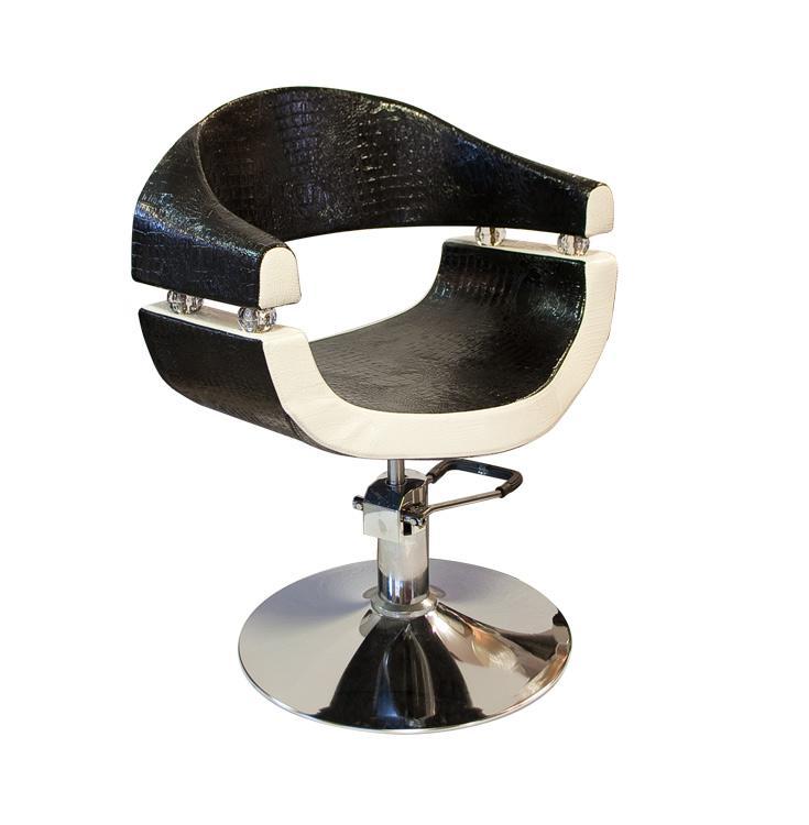 Black and White; Selective SX-2107 Hidraulikus fodrász szék / Fekete-fehér