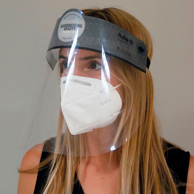 Eurostil Arcvédő plexi maszk 07212