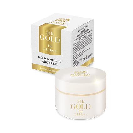 Golden Green Nature 24k Gold 24 Órás Bőrfeltöltő Arckrém 50ml
