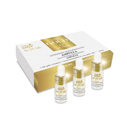 Golden Green Nature 24k Gold Sejtműködést Aktiváló Ampulla 3*3ml