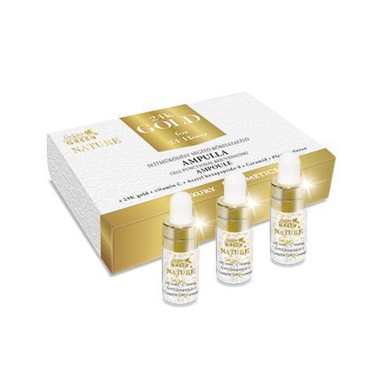 Golden Green Nature 24k Gold Sejtműködést Aktiváló Ampulla 3*3ml