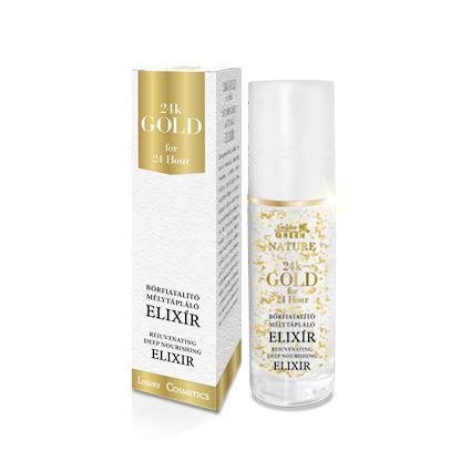 Golden Green Nature 24k Gold Sejtműködést Aktiváló Elixír 30ml