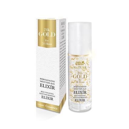 Golden Green Nature 24k Gold Sejtműködést Aktiváló Elixír 30ml