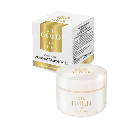 Golden Green Nature 24k Gold Szemkörnyékápoló Gél 50ml