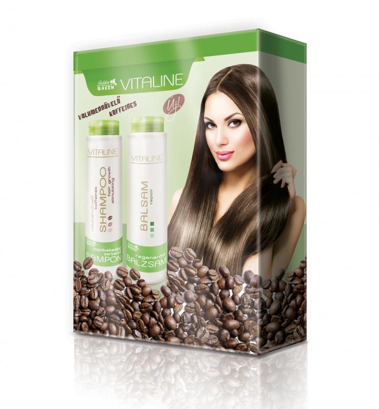 Golden Green Vitaline Koffeines Hajápoló Ajándékcsomag