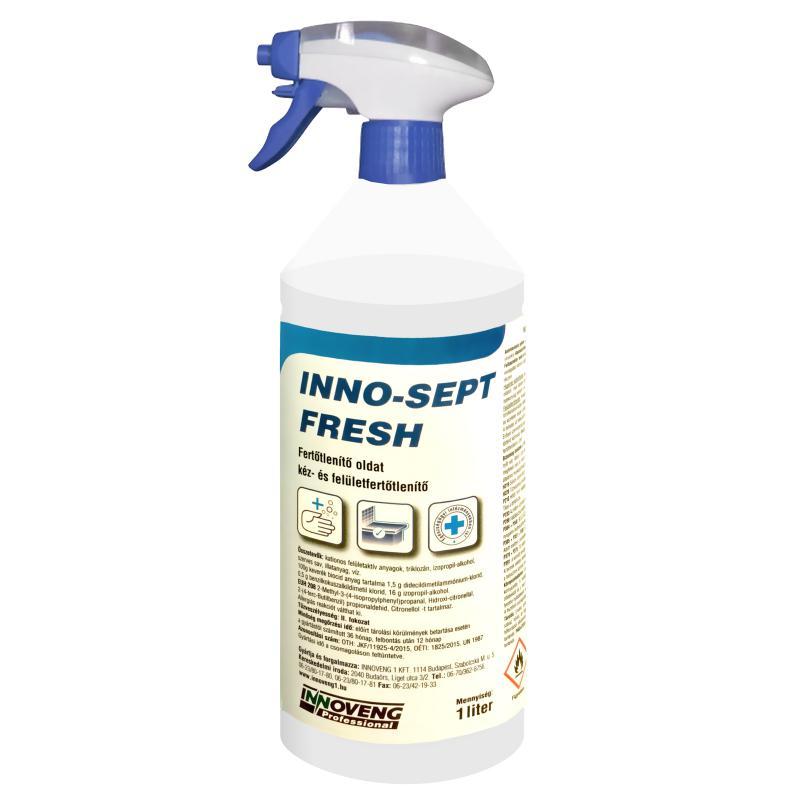 INNO-SEPT FRESH fertőtlenítő oldat 1000ml