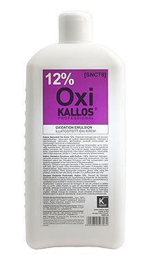 Kallos Illatosított Oxi Krém 12% 1000ml