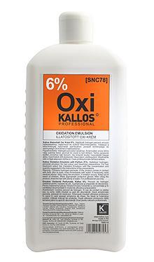 Kallos Illatosított Oxi Krém 6% 1000ml
