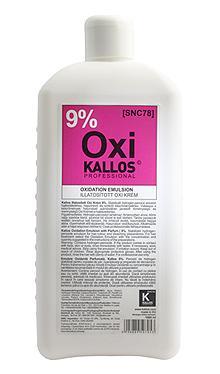 Kallos Illatosított Oxi Krém 9% 1000ml
