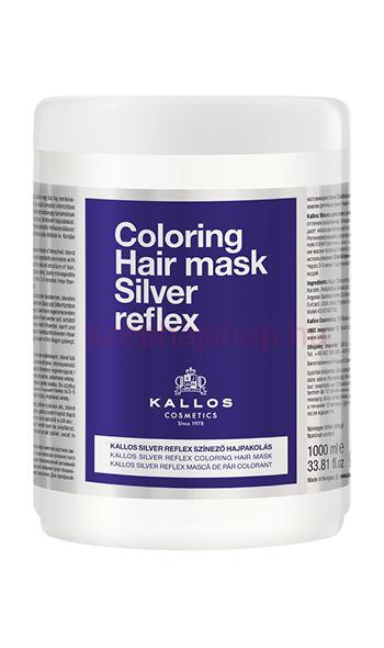 Kallos Silver Reflex színező hajpakolás 1000gr