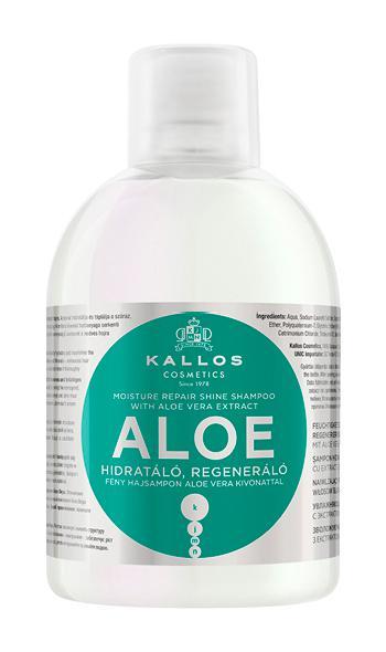 Kjmn Hidratáló, Regeneráló Fény Hajsampon Aloe Vera Kivonattal 1000ml