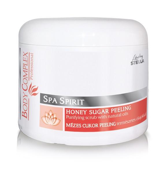 Lady Stella BodyComplex Spa Spirit Mézes Cukor Peeling természetes olajokkal 350g