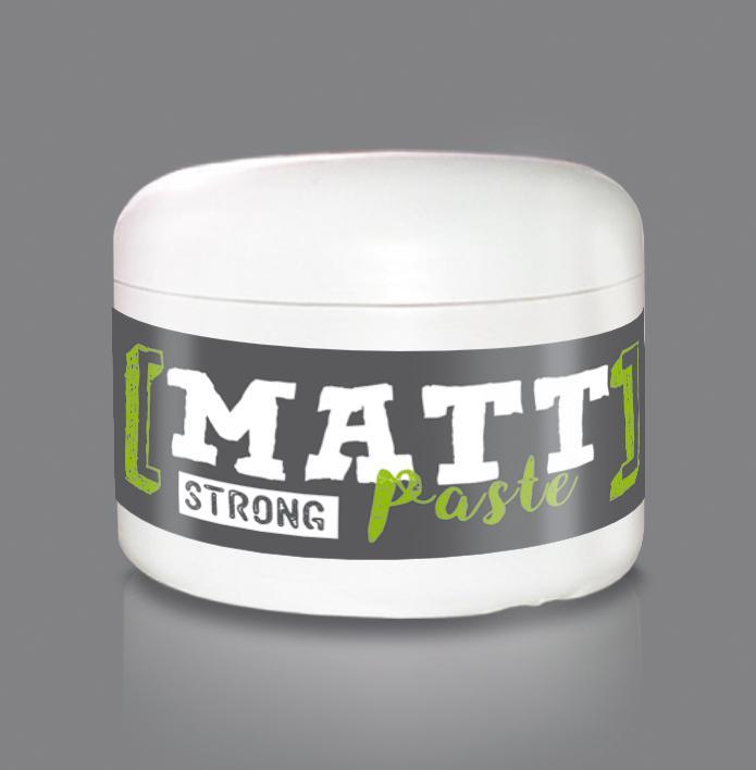 Matt paszta - Strong / Zöldalma illattal 100ml