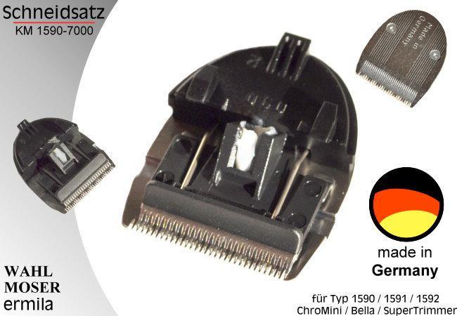 Moser - ChroMini hajvágógép vágófej 1590-7000