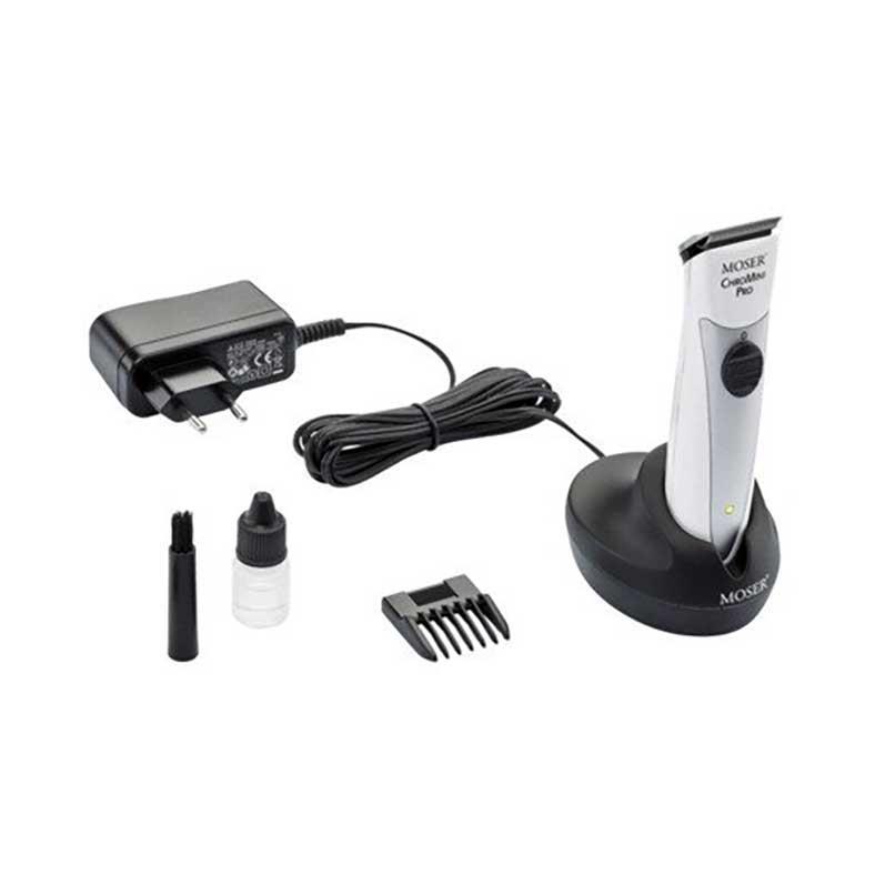 Moser - ChroMini Pro vezetékes/vezeték nélküli kontúrvágógép / Fekete vagy Fehér