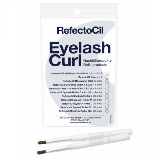 RefectoCil EyeLash Perm applikátor ecset utántöltő 2db/csomag