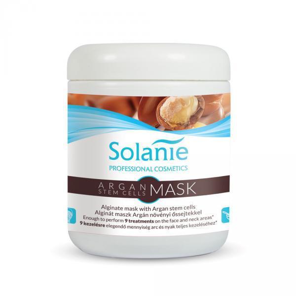 Solanie Alginát Argán növényi őssejtes maszk – tégelyes 90gr