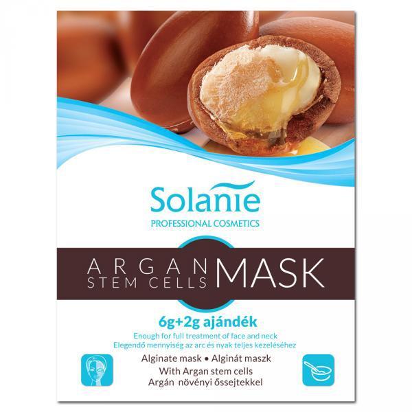 Solanie Alginát Argán növényi őssejtes maszk 6+2gr