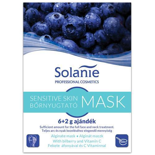 Solanie Alginát Bőrnyugtató maszk 6+2gr