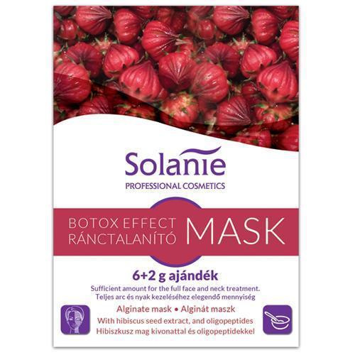 Solanie Alginát Botox Effect Ránctalanító maszk 6+2gr