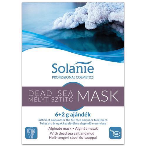Solanie Alginát Holttengeri tisztító maszk 6+2gr