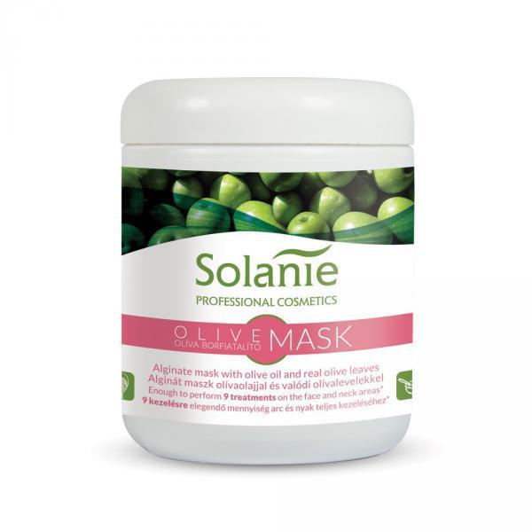 Solanie Alginát Oliva bőrfiatalító maszk – tégelyes 90gr