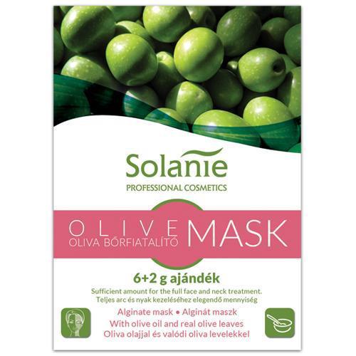 Solanie Alginát Oliva bőrfiatalító maszk 6+2gr