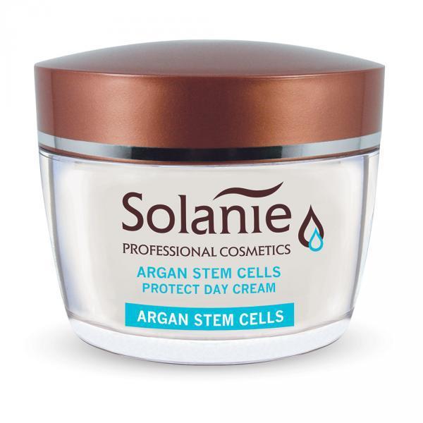 Solanie Argán növényi őssejtes Protect nappali krém 50ml