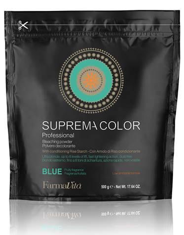 Suprema Color szőkítőpor – kék, pormentes 500gr