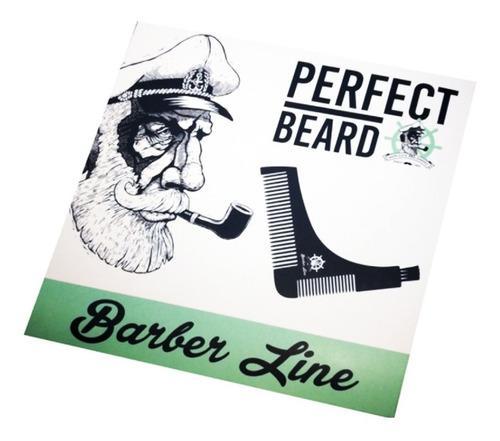 The Beard Pro - Barber Line  - Szakáll sablon