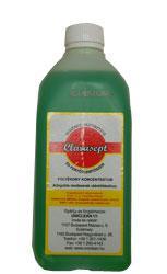 Uniclean CLARASEPT fertőtlenítő folyékony szappan 1000ml