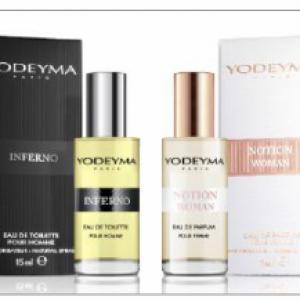 Férfi 15 ml Yodeyma mini parfümök