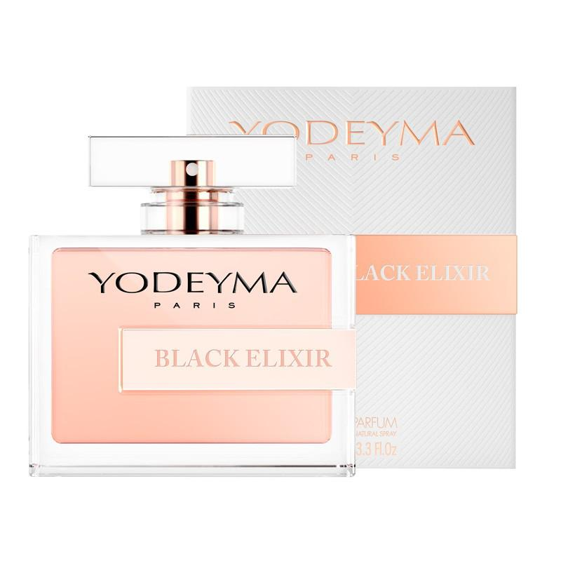 BLACK ELIXIR - YODEYMA 100 ml - BLACK OPIUM Yves Saint Laurent jellegű