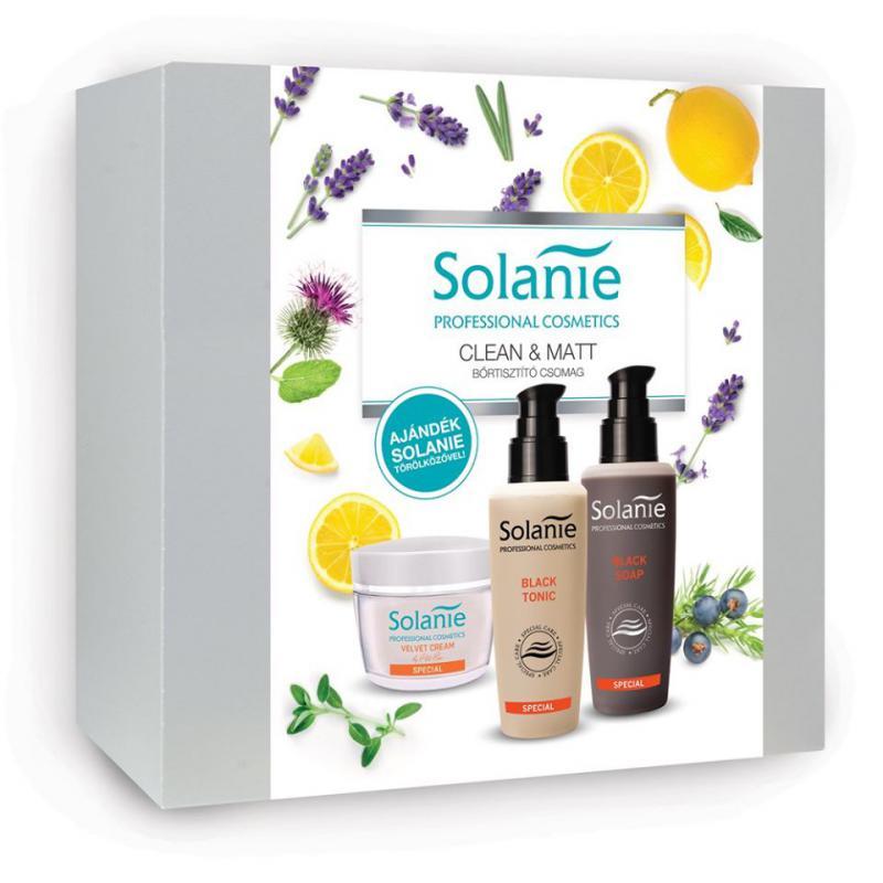 Bőrtisztító csomag - SOLANIE