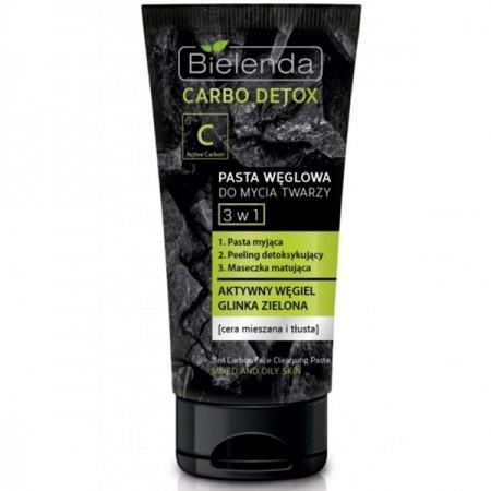 CARBO DETOX - Carbon arclemosó paszta 3in1 - BIELENDA