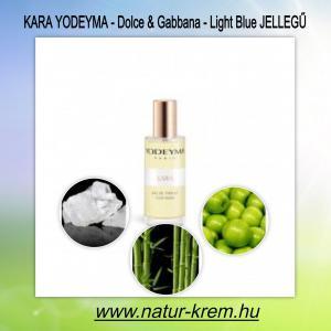 KARA YODEYMA -  Dolce & Gabbana - Light Blue jellegű 15 ml - TESZTER