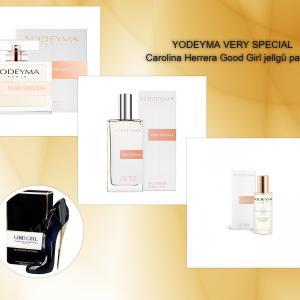 VERY SPECIAL YODEYMA 15 ml  -  Carolina Herrera - Good Girl jellegű