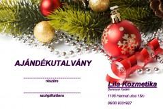 Ajándékutalvány Kozmetikai szolgáltatásokra