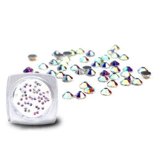 A'la Swarovksi Strasszkő SS3 - Crystal AB (irizáló)