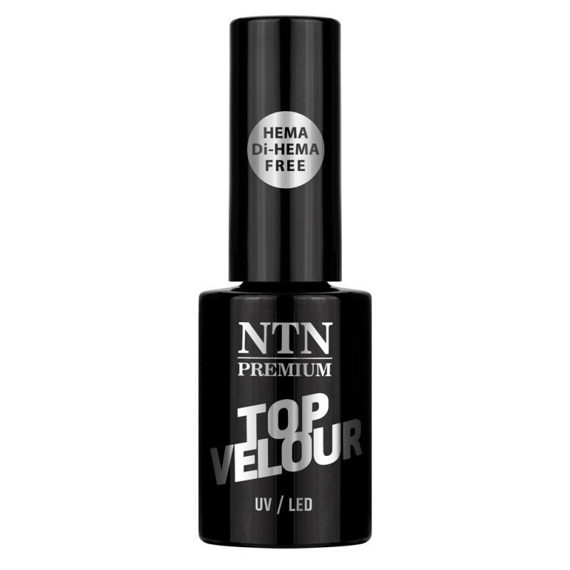 NTN Premium Velour Top fixálásmentes univerzális matt fedőzselé 5g