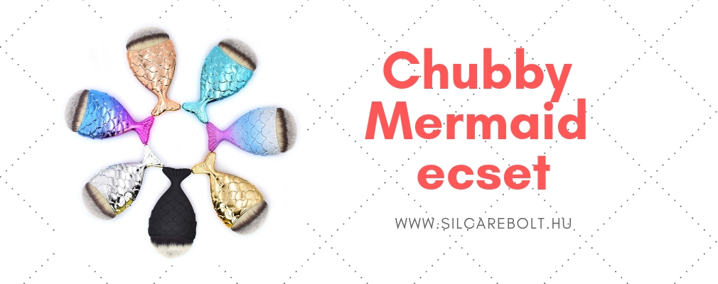 Chubby mermaid ecset