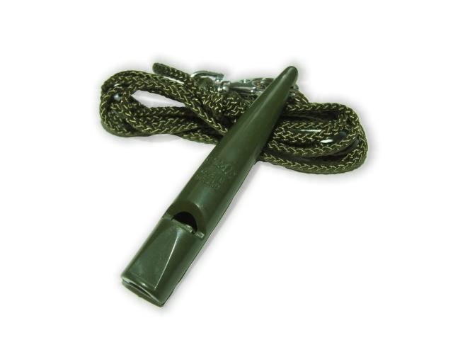 ACME 211 1/2 Vadászsíp + Nyakpánt - Oliva zöld