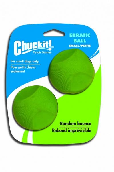 Chuckit! Erratic tévelygő labda kicsi 5 cm 2 db