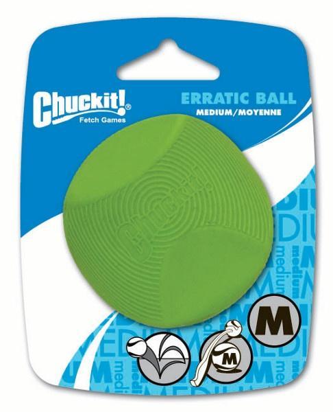 Chuckit! Erratic tévelygő labda medium 6,5 cm 1 db